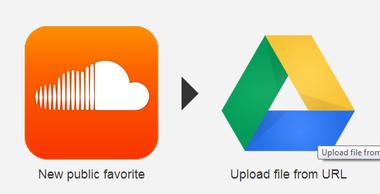 soundcloud google drive