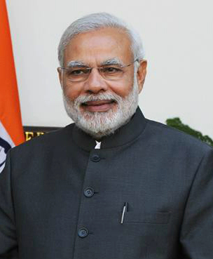 Narendra Modi (image taken from Wikipedia)