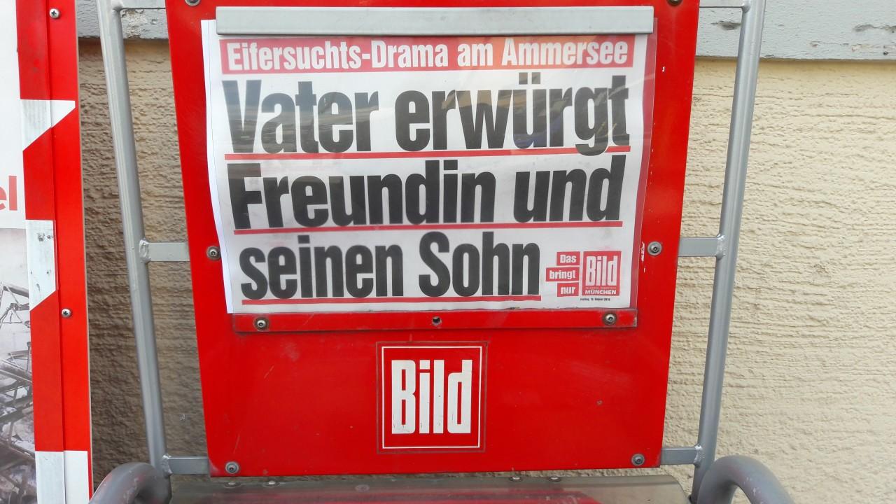 Schlagzeile BILD München
