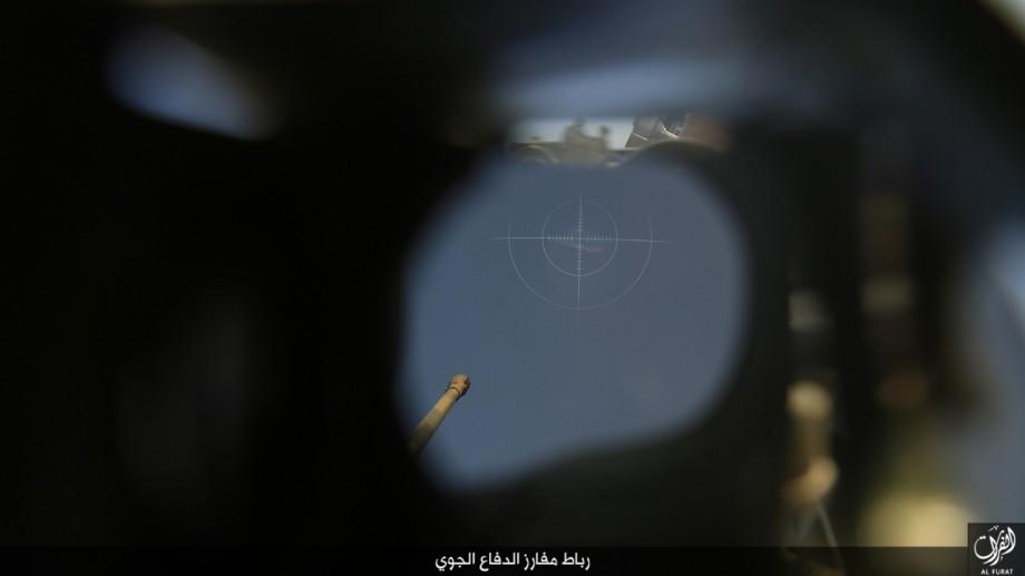 المكت الإعلامي لولاية الفرات // تقرير مصور // رباط مفارز الدفاع الجوي في مدينة القائم coobra.net