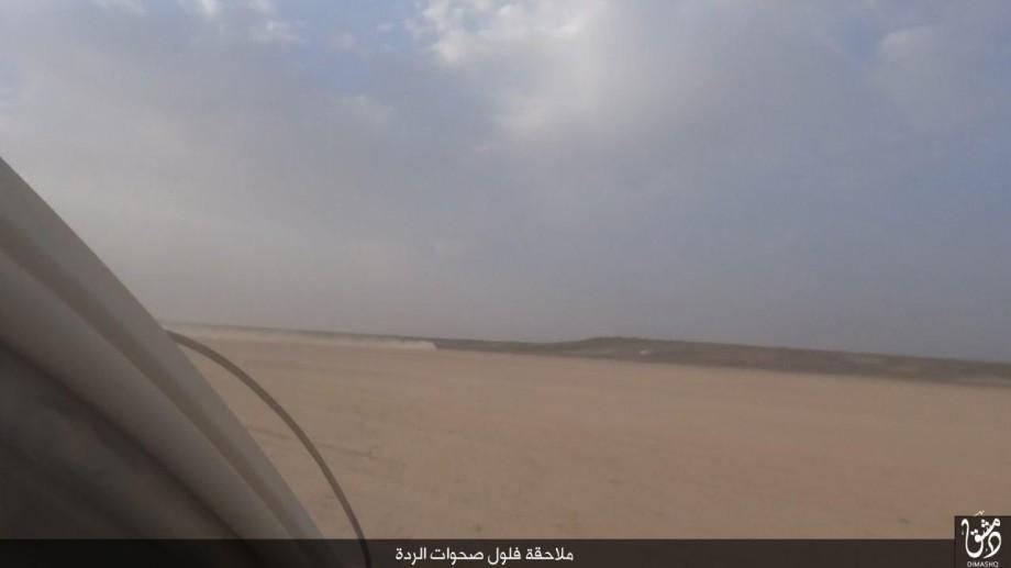 ولاية دمشق / صور من صولة جنود الخلافة على مواقع لصحوات الردة على الحدود المصطنعة مع الأردن coobra.net