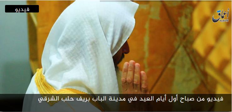 مرئي // فيديو من صباح أول أيام العيد في مدينة الباب بريف حلب الشرقي coobra.net