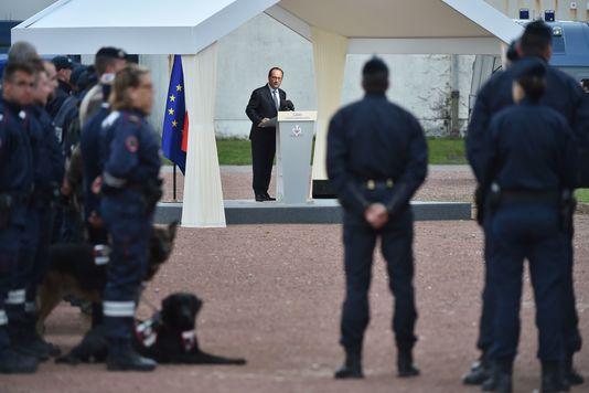 François Hollande à Calais, le 26 septembre.