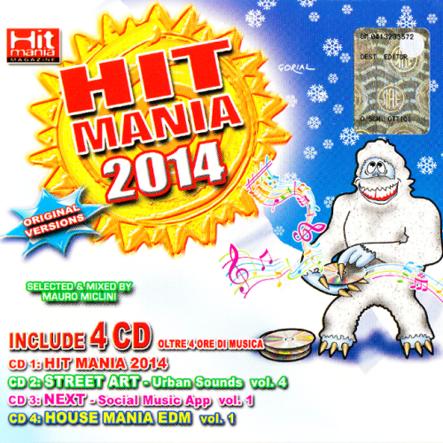 V.A. Hit Mania 2014 (WKM042-BOX) [4CD] (2014)
