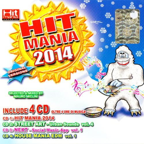 V.A. Hit Mania 2014 (WKM042-BOX) [4CD] (2014)