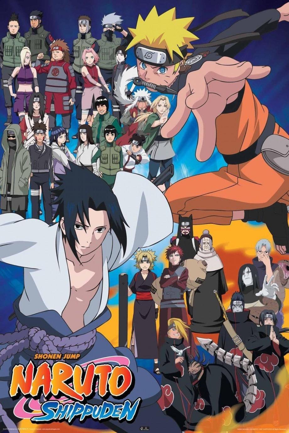 0118 Font B Naruto Cast Tv
