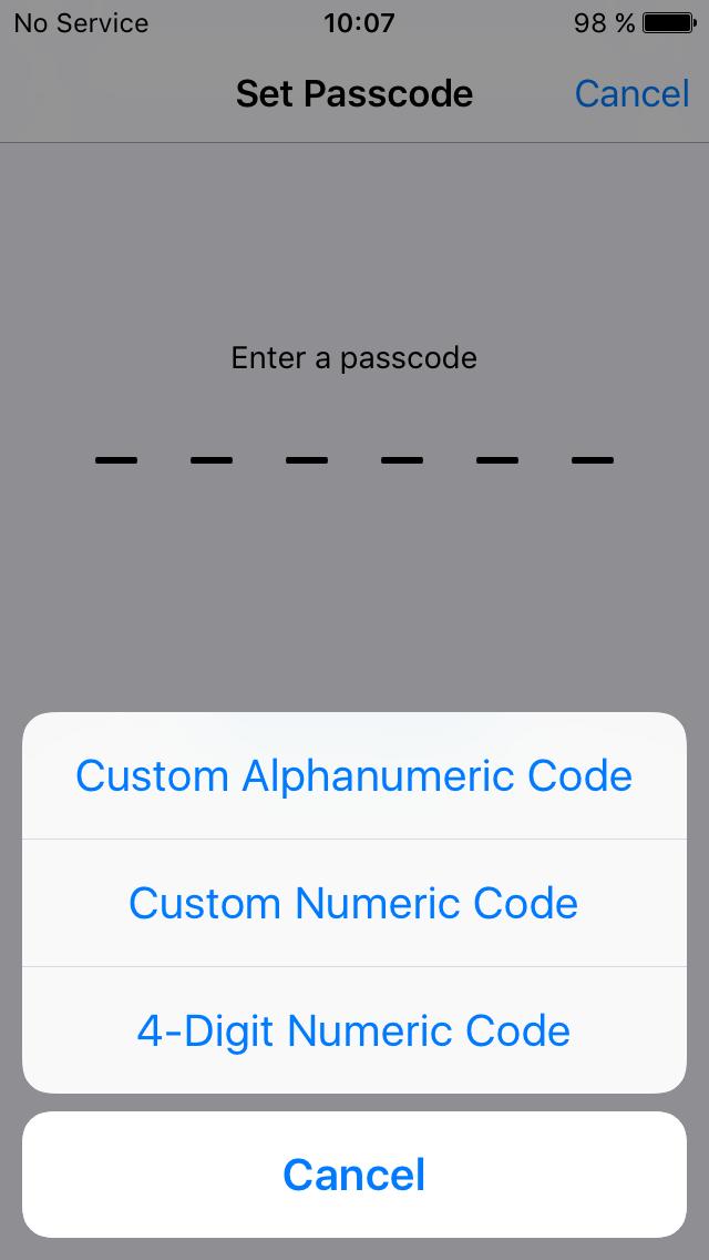 PIN-код или датчик отпечатков — решать тебе