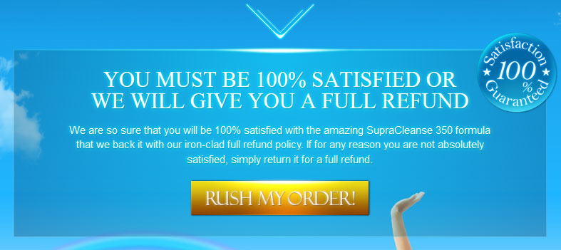 Supra Cleanse 350 free trial