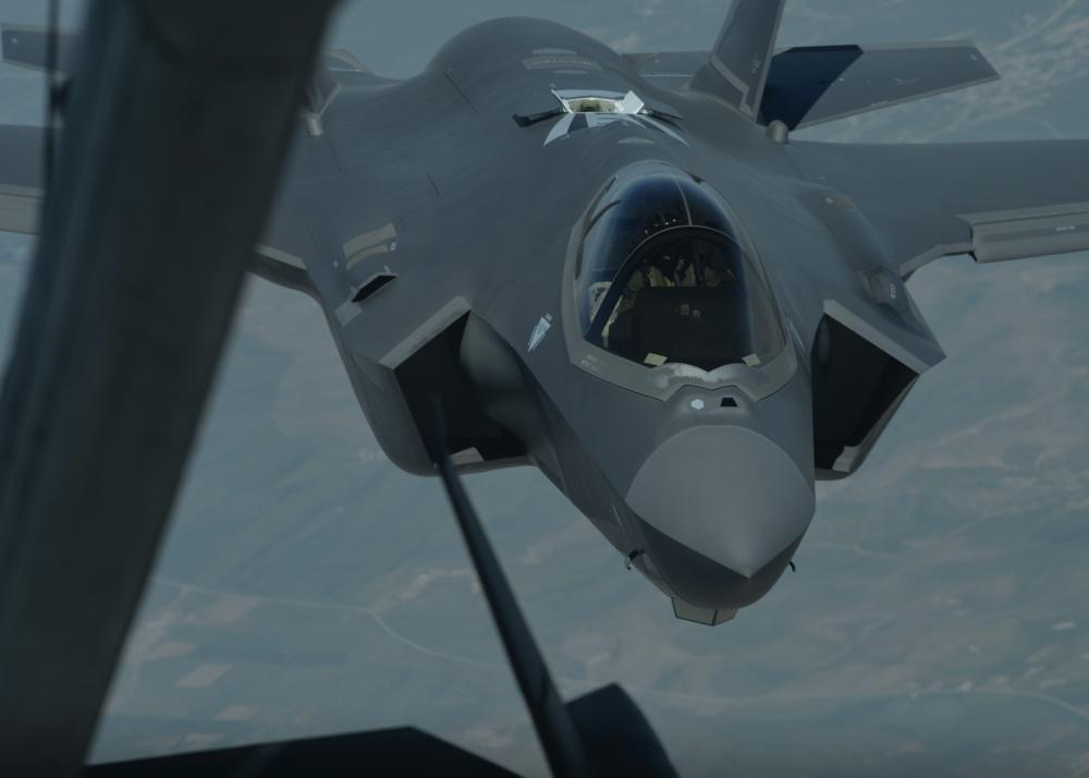 KC-10 supports F-35A's first air interdiction