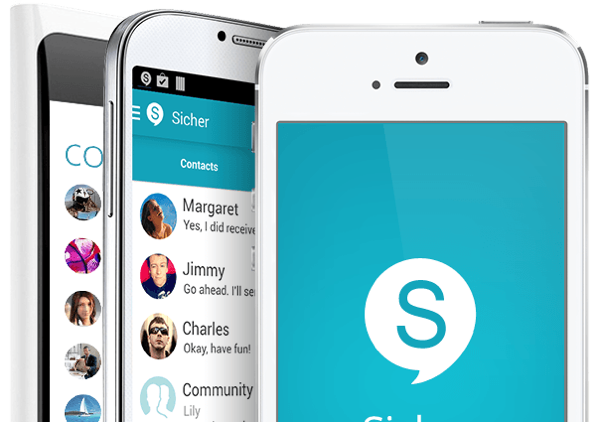 Sicher-privacy-chat-app-iPhone