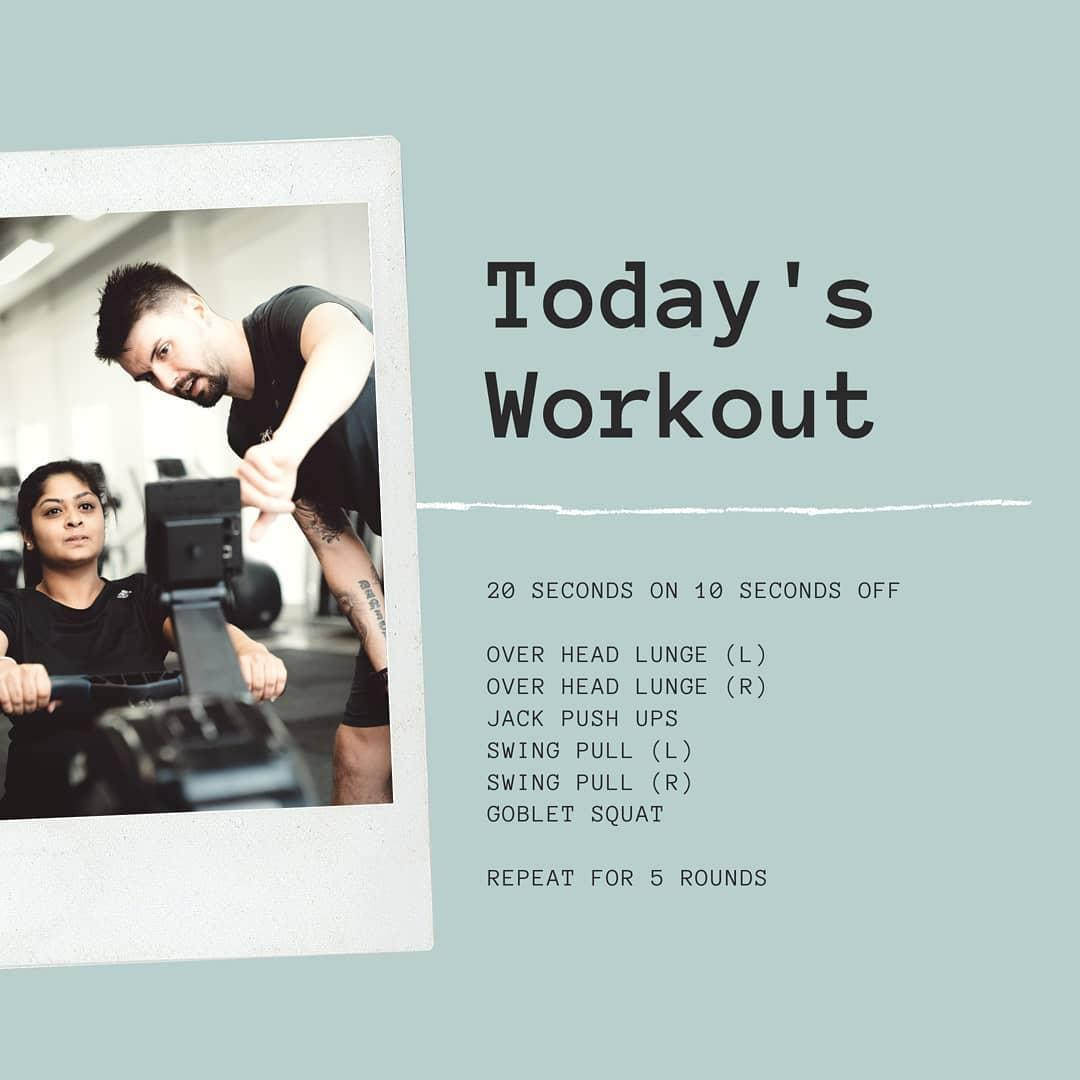 Short on time? Try this quick HIIT workout 20 seconds work, with 10 seconds…