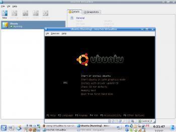 Figure 4: The Ubuntu installer