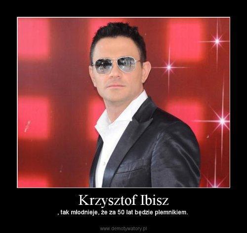 Krzysztof Ibisz w demotywatory.pl