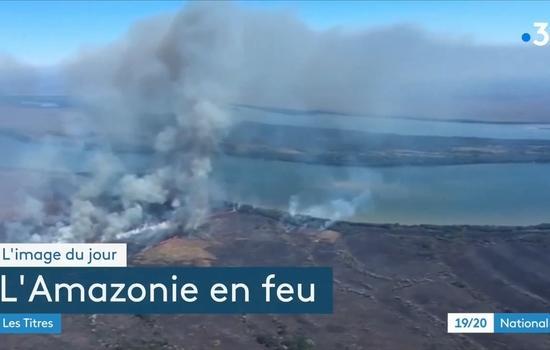 Amazonie : feu sur la forêt