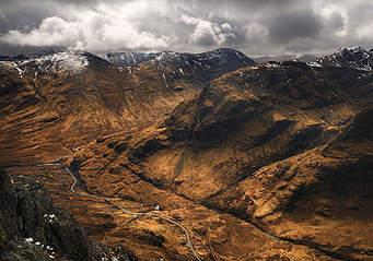 mountains in scotland facts