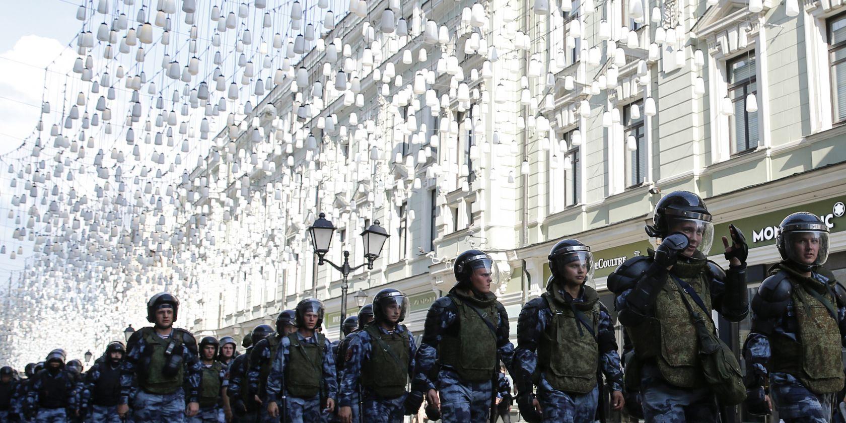 En Russie, du pain et des jeux pour oublier les manifestations