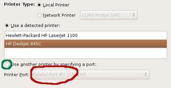 Figure 6: Two printers