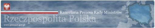 nagłówek witryny internetowej Premiera