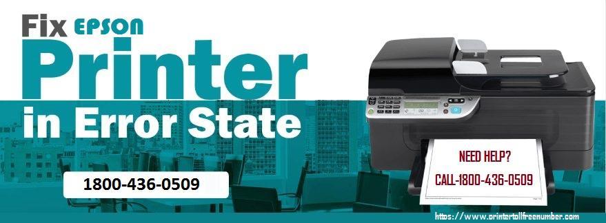 Epson printer error stae