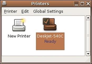 Figure 4: New printer icon