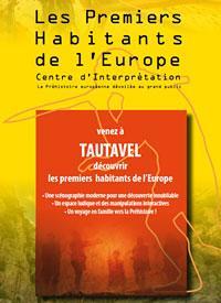 Les premiers habitants de l'Europe - Exposition Tautavel