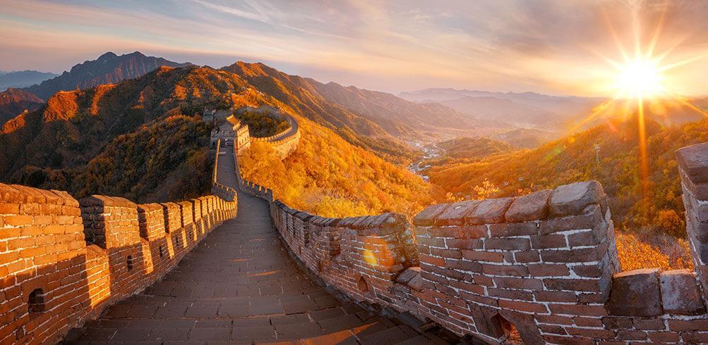 great wall of china china tours