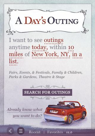 A Day's Outing Logo