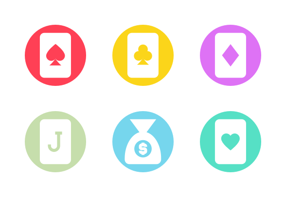 Gambling icons by Icons Valley'Gambling' by Icons Valley - 웹