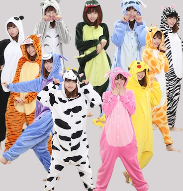 animal onesies for tweens