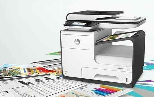 hp printer ghosting