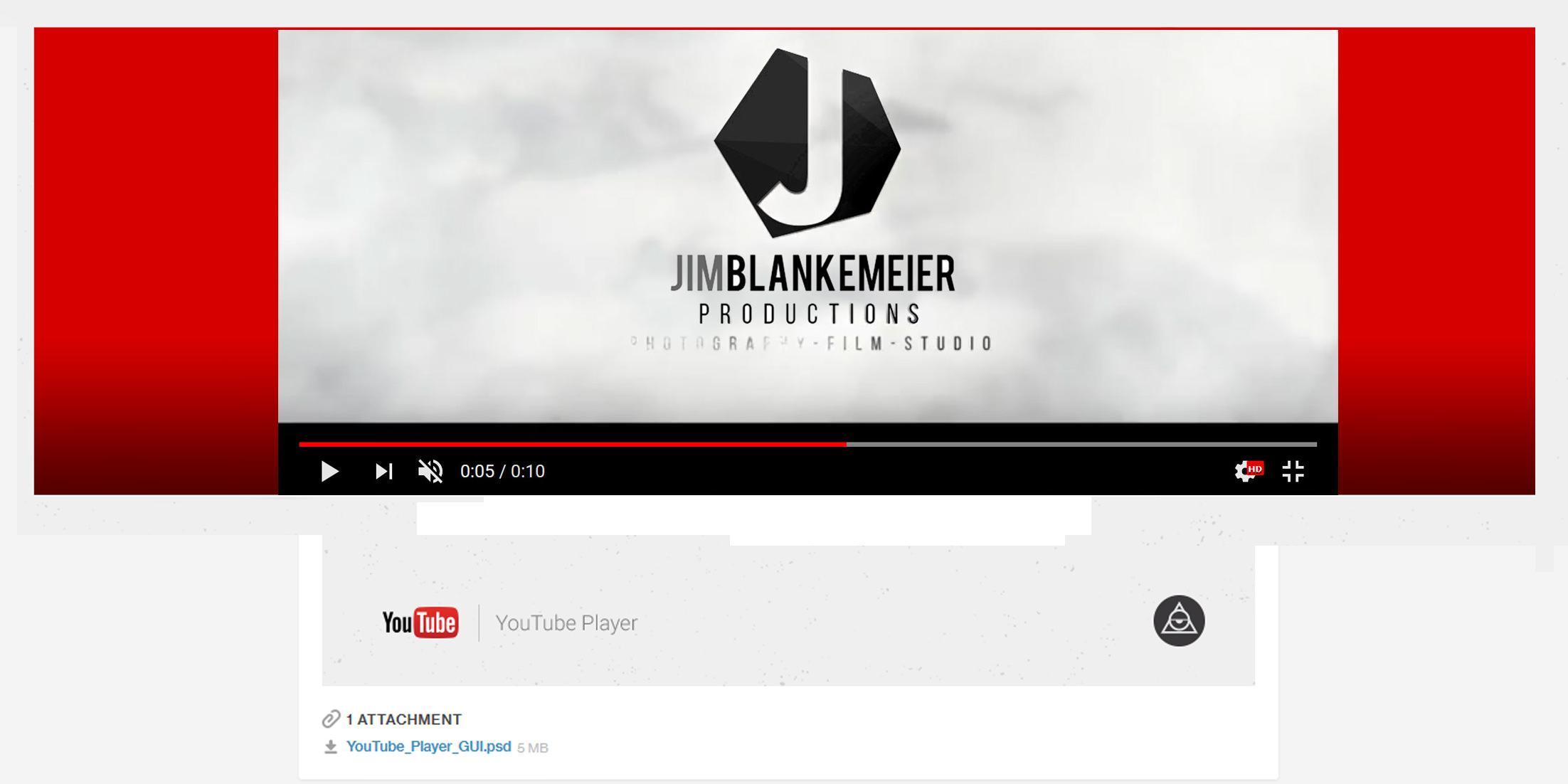 Video productions by Jim Blankemeier