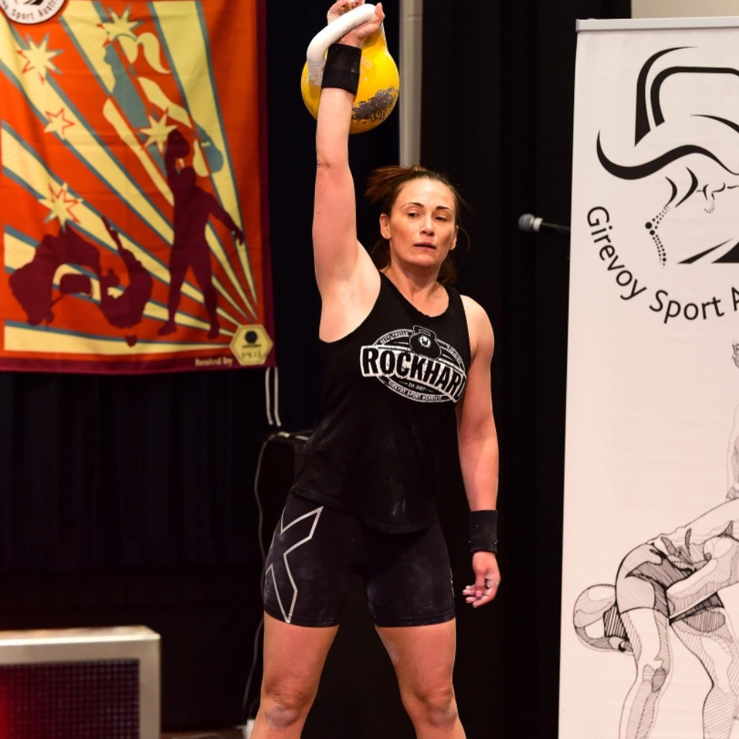 Congratulations to Melanie Harris for winning Gold in Snatch at the GSAA…