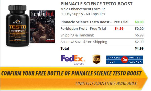 Pinnacle Science Testo Boost #1 | Peatix