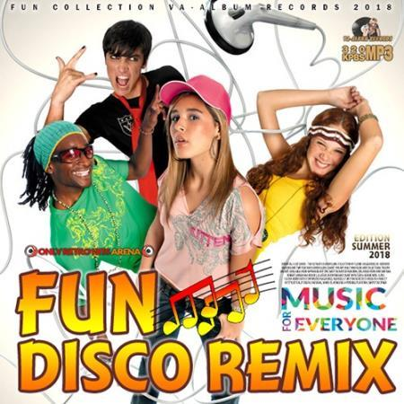 VA – Fun Disco Remix – (2018)