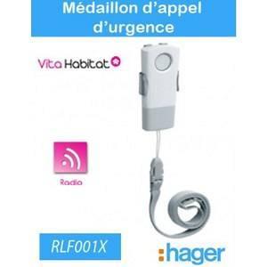 hager Médaillon d'appel d'urgence - Hager logisty - RLF001X