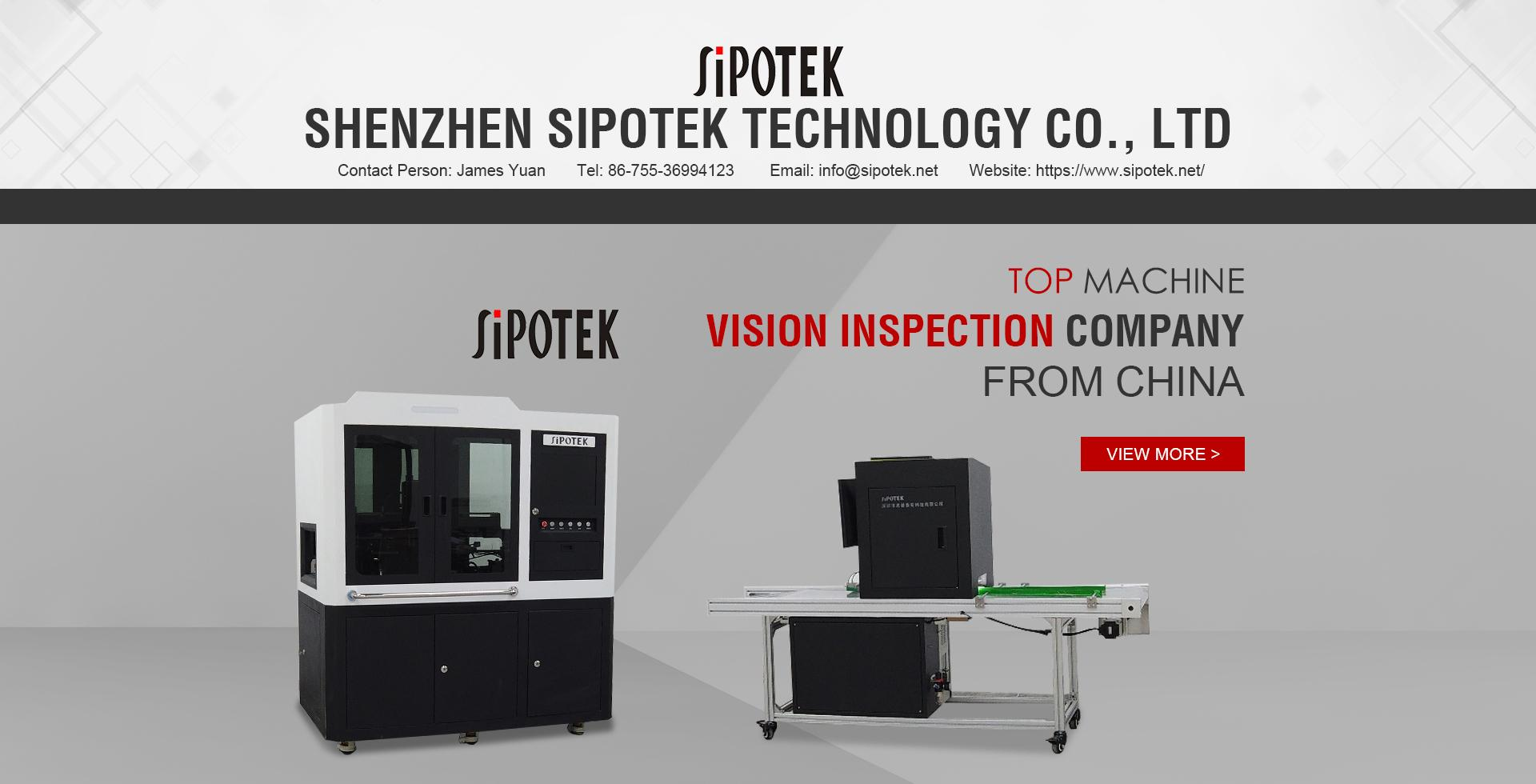 Sipotek Visual Inspection Machine