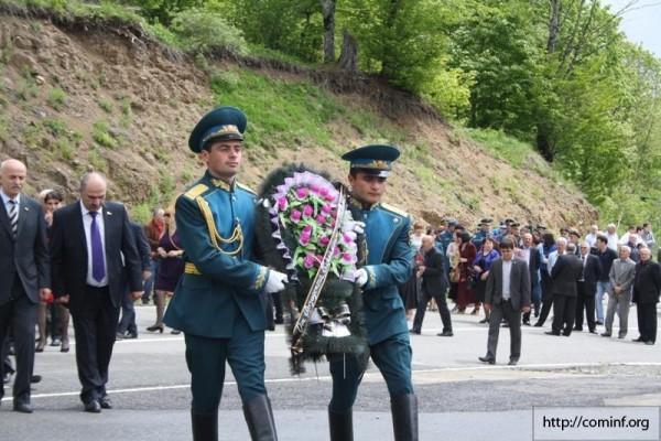 Фоторепортаж: День памяти и скорби в Южной Осетии. 20.05.2013г