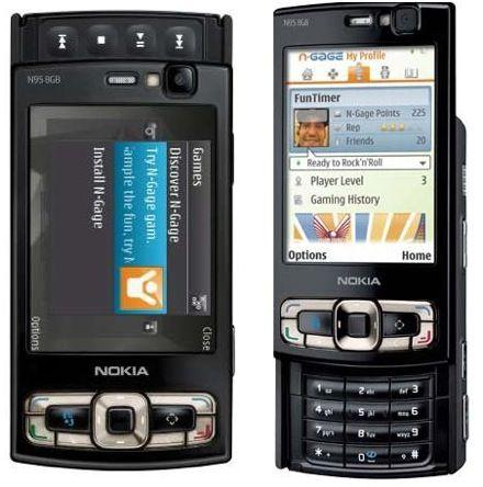 Nokia N95 8GB phone