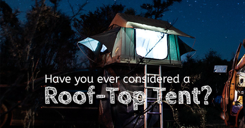 Discovery rooftop tent