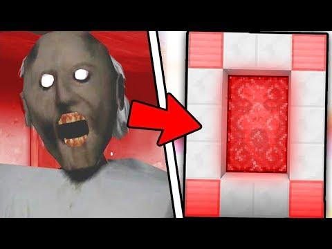 HOW TO MAKE A PORTAL TO THE GRANNY HORROR DIMENSION - MINECRAFT Granny - 동영상