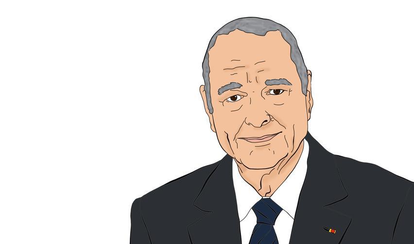 Portrait de Jacques Chirac