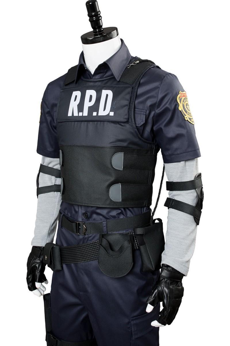 Image result for resident evil Leon cosplay costume