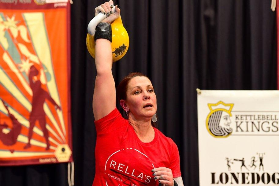 Congratulations to Cindy Rella for winning Gold in One Arm Jerk at the GSAA…