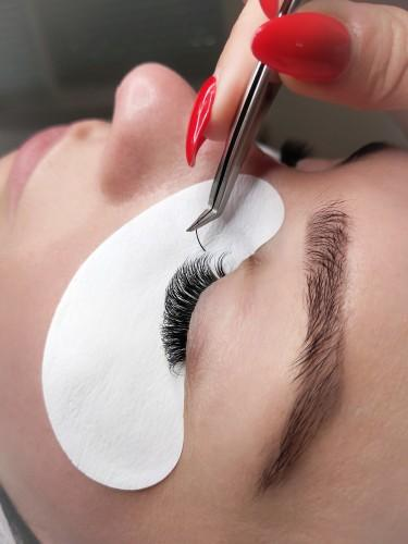 synthetic silk lashes