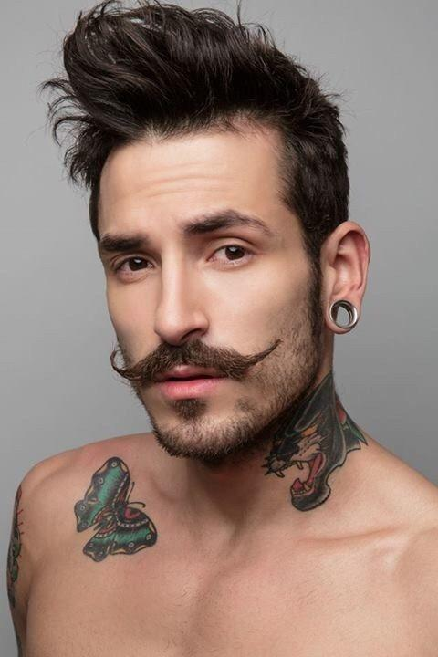 Soul Patch And Moustache Style   Goatee styles, Mustache styles ...