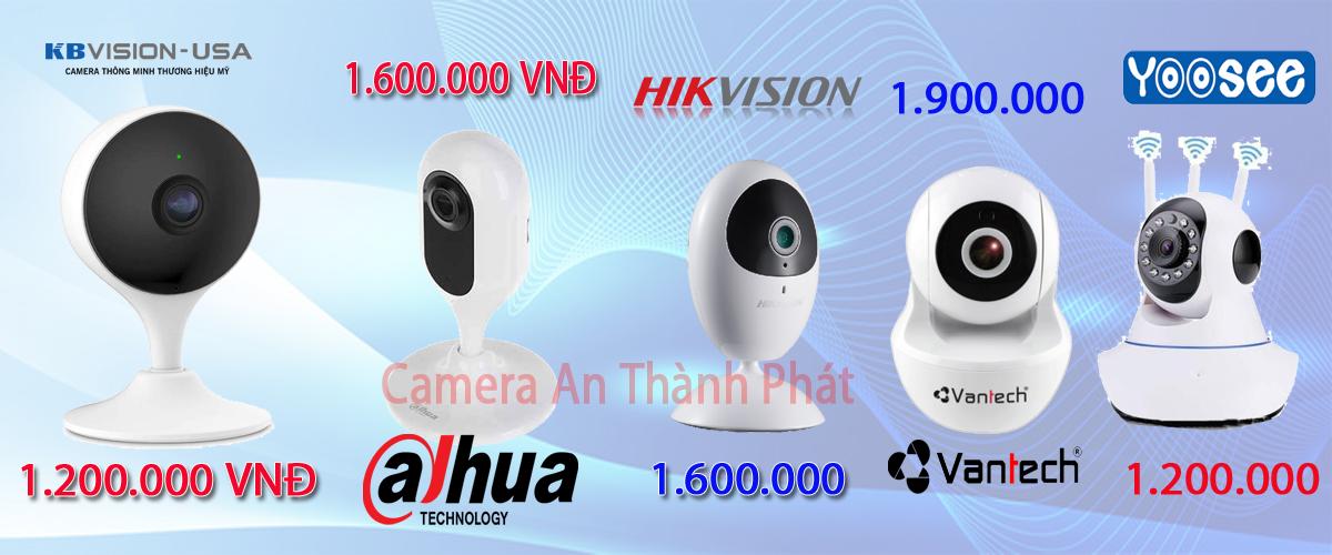 Thương hiệu lắp camera wifi giá rẻ chất lượng uy tín