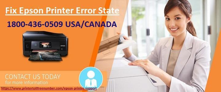 Epson printer Error State