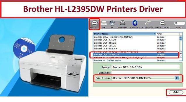 Brother HL-L2395DW Printers Driver