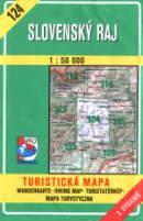 Okładka mapy Słowackiego Raju