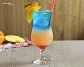 Tropical Bay - drink warstwowy   Koktajle-Drinki.pl - PrzyslijPrzepis.pl